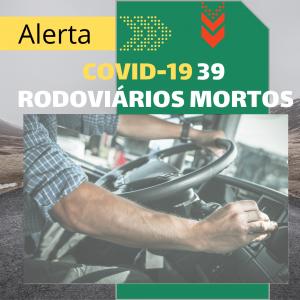 Rio contabiliza 39 rodoviários mortos por Covid-19 até o momento
